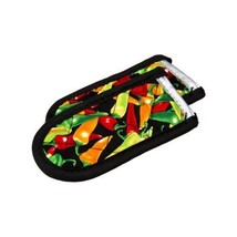 Lodge Set Of 2 Hot Handle Holders, Multicolor Chili Pepper - $10.61