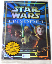 Rare Star Wars Episode 1 Merlin Stickers Album Israel Hebrew Version + 4... - $32.54