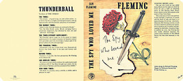 Fleming - The Spy Who Loved Me Faksimile -umschlag First UK Edition Buch - $21.40