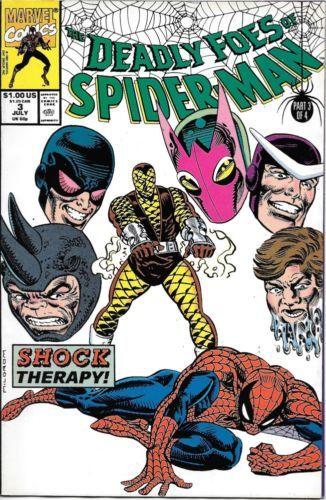 Web of Spider-Man Comic Book #7 Marvel Comics 1985 NEAR MINT NEW UNREAD
