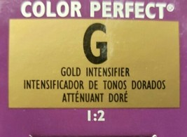 Wella Color Perfect Permanent Creme Gel 1:2 (Tube) G Gold Intensifier - $7.60