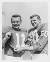 CHUCK BEDNARIK NORM VAN BROCKLIN 8X10 PHOTO PHILADELPHIA EAGLES FOOTBALL... - $3.95