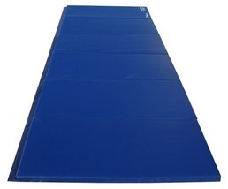 Z-Athletic Gymnastics & Exercise Folding Mats Blue, 6ft x 12ft x 2in - $376.16