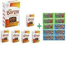 Banza Rotini Chickpea Pasta 8 OZ (Pack of 6) + 10 Pack of M&M Milk Choco... - $74.10
