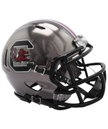 South Carolina Gamecocks Helmet Riddell Replica Mini Speed Style Chrome ... - $29.99