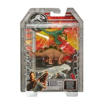 Jurassic World Stegosaurus, Velociraptor, & Transparent Indominus Figure... - $9.75