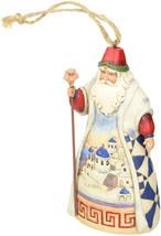"""Jim Shore Heartwood Creek Greek Santa Stone Resin Hanging Ornament, 4.5"""" - $29.67"""