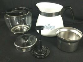 Corning Ware Blue Cornflower Coffee Pot 2 quart 8 Cup Drip-O-Lator P-118 - $85.00
