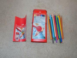 Faber-Castell 15 Color Pencil Set in Tin - $9.89