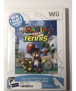 Wii Mario Power Tennis Blockbuster Rental U1 - $14.85