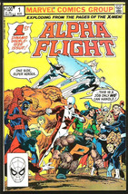 Alpha Flight #1 John Byrne (X-Men) Double-sized Marvel Comics 1983 Avengers - $35.00