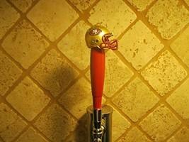 49ers Kegerator Beer Tap Handle Football Helmet Team Bar NCAA - $38.56