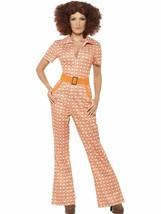 Authentique 70's Chic Déguisement, UK 16-18, 1970's Déguisement Disco - $29.88