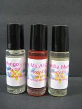 JASMINE MUSK  Perfume Body Oil Fragrance 1/8 oz Roll On One Bottle - $6.48