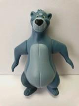 2002 Baloo The Jungle Book Toy Disney Action Figure Mcdonalds Jungle Cak... - $2.70