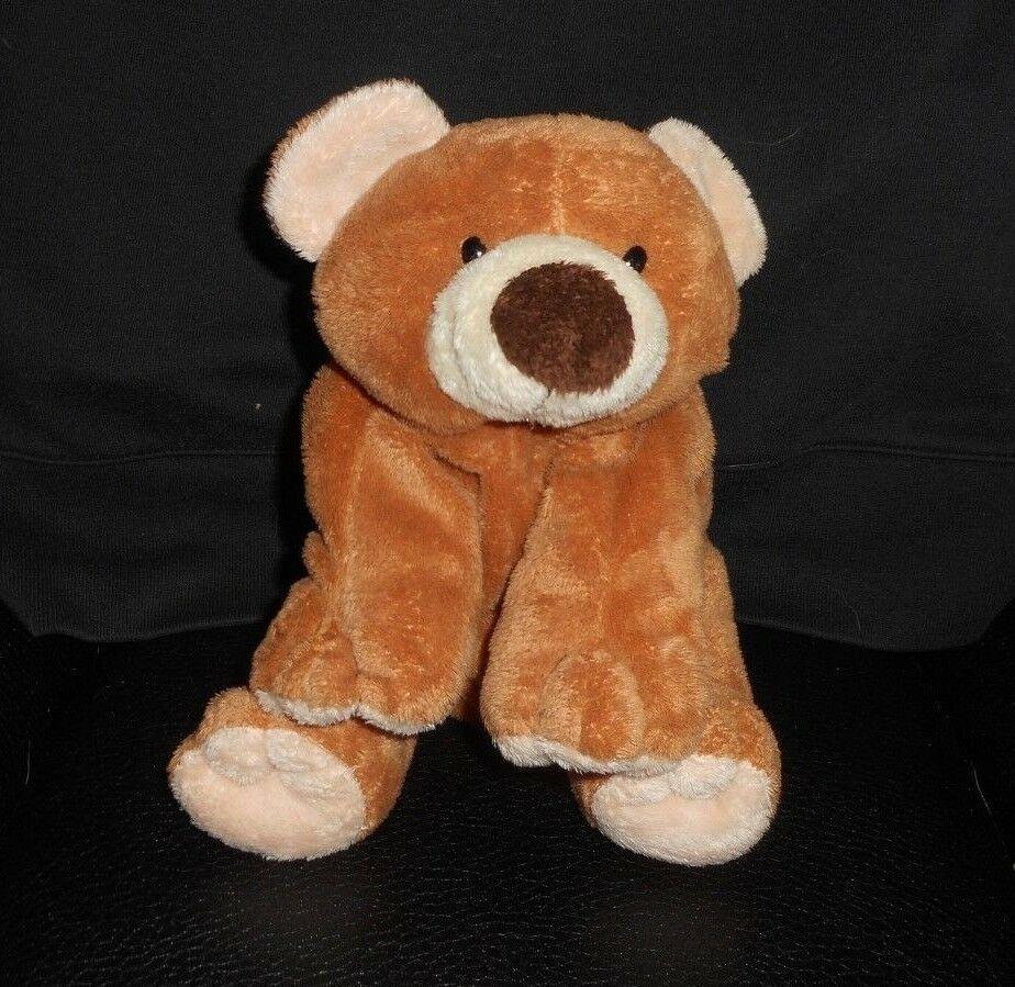 Ty Pluffies 2002 Slumber Baby Braun Teddybär Cub Plüschtier Plüschtier Spielzeug
