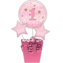 One Little Star Girl Centerpiece Sticks/Case of 18 - £30.63 GBP