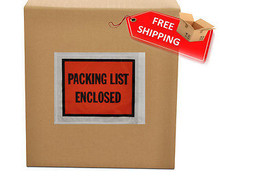 6000 Packing list slip Holders Enclosed Pouch 4.5 x 5.5 Back side load - $115.78