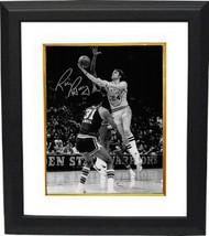 Rick Barry signed Golden State Warriors 8x10 B&W Vintage Photo Custom Fr... - £67.96 GBP
