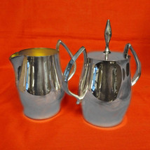 Wallace Cosmopolitan Sugar & Creamer Set, Silverplate Hollowware - $99.00