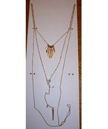 "Time And Tru Fashion Jewelry 15"" Necklace W 3"" Extender Gold  - $10.88"