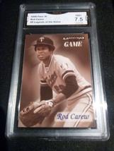 1996 Fleer SI Rod Carew GMA Graded 7.5 NM+ Legends Baseball 8 - $7.75