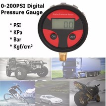 0-200PSI Car Truck Bike Auto Car Tyre Tire Air Pressure Gauge Dial Meter... - $10.59