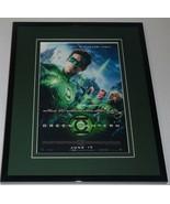 Green Lantern Framed 8x10 Repro Poster Display Ryan Reynolds Blake Lively - $34.64