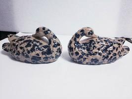 """Pair of Vintage 1980 Authentic Rutland Reproduction Ceramic 8.5"""" Ducks b... - $12.86"""