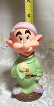 "VINTAGE Dopey PVC DISNEY SNOW WHITE & THE SEVEN DWARFS 5 1/2"" image 2"