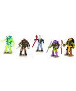 Mega Bloks Teenage Mutant Ninja Turtles Out Of The Shadows Figures Set o... - $19.94