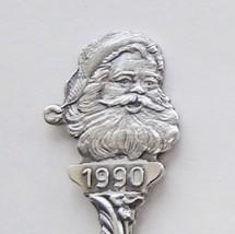 Collector souvenir spoon christmas 1990 santa claus repousse bowl mary jesus  1  thumb200