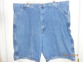 Men's Wrangler Originals carpenter style jean shorts size 44 hammer hook NWOT - $9.41