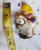 Fisher Price Little People Klip Klop White Horse & Blonde Princess Cinderella  - $10.50