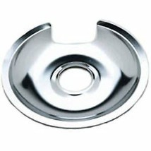 WB32X10013 GE 8 Inch Chrome Burner Pan Genuine OEM WB32X10013 - $9.25