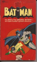 DC Batman The Best Of The Original Batman TPB Signet 1966 1st Print B&W Reprints - $14.95