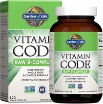 Garden of Life Vitamin B Complex - Vitamin Code Raw B Whole - $37.81