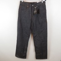 Rocawear Calvary Relaxed Jeans Mens Size 32x32 Gray Studded Pockets - $49.49