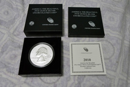 2010 P 5 oz Silver ATB Yosemite National Park .999 Silver First Year Of Issue image 3