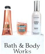 Bath & Body Works Georgia Peach Room Perfume, Pocketbac & Peach Hand Cream - $20.30