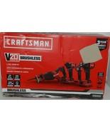 Craftsman CMCK420D2 4 Tool Combo Kit V20 Lithium Ion BRUSHLESS - $249.99
