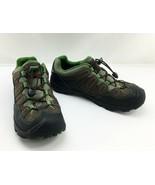 Keen Pagosa Low Brown Green Waterproof Hiking Shoes - Women's Size 6 No ... - $33.20