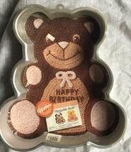 Wilton Huggable Teddy Bear Cake Pan with Insert - $4.99