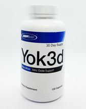 USP LABS YOK3D 120 CAPS NITRIC OXIDE N.O. BOOSTER - $21.80