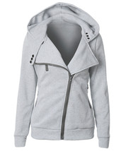 Female Hoodies Sweatshirt Autumn Winter Long Sleeve Zip BTS Hooded Sudad... - $24.80