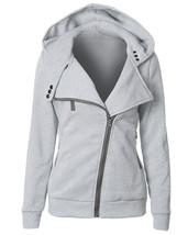 Female Hoodies Sweatshirt Autumn Winter Long Sleeve Zip BTS Hooded Sudad... - $24.80