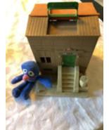 Vintage Sesame Street Doll House & Plush Grover Doll - $79.79