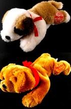 JACK & ACE lot of 2 Hard Rock Casino & Hotel Bandana Dogs Plush Stuffed Animals - $20.99
