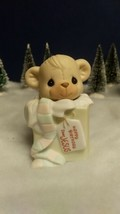 Precious Moments 1990 Figurine Bear 524875 Happy Birthday Dear Jesus Candle Mark. - $9.80