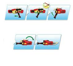 Miniforce Gun Saver Super Dinosaur Power Transformation Toy Sword Gun image 6